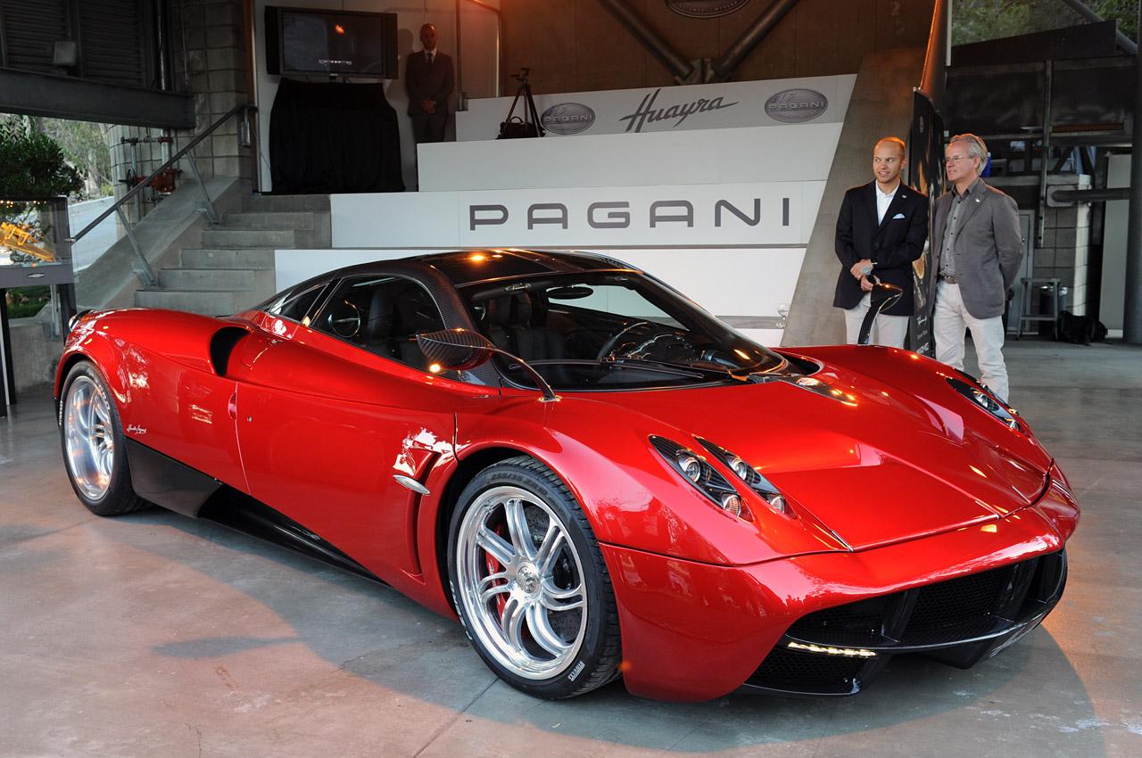 The Pagani Huayra Exotic Car List