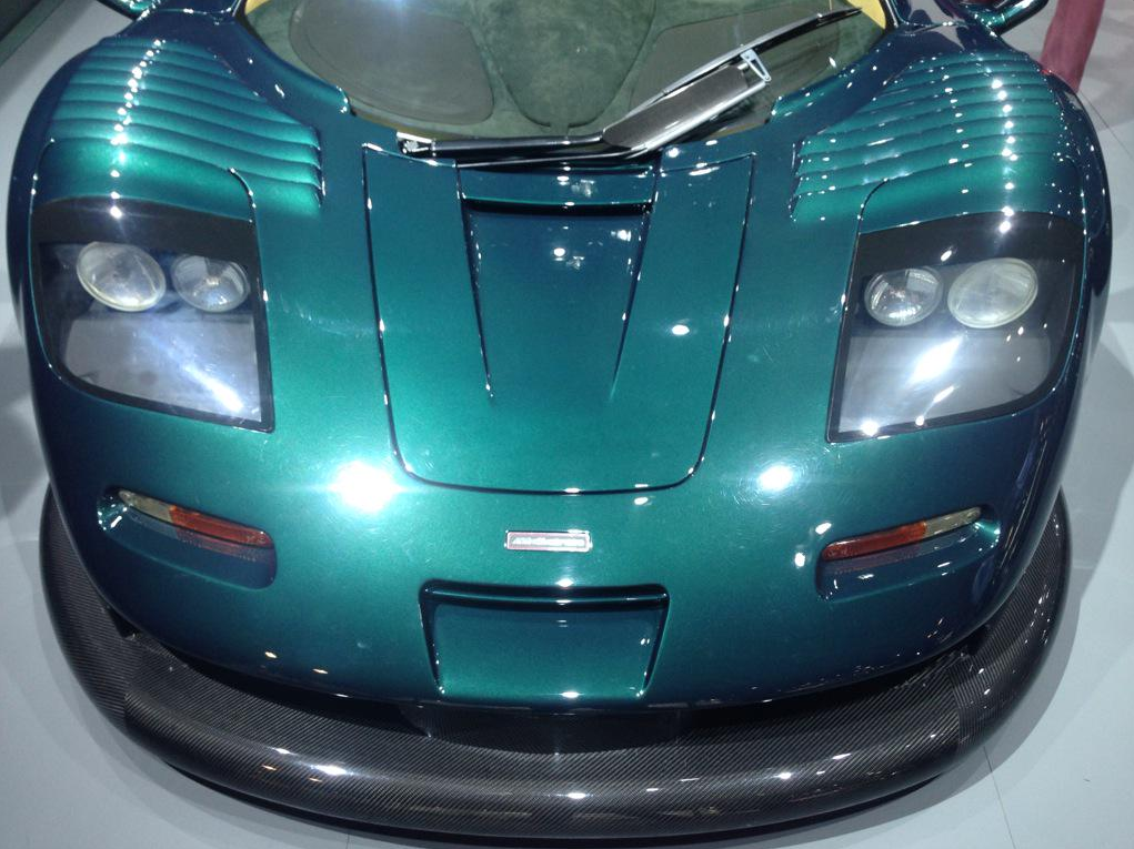 McLaren F1 GT Longtail Surfaces in NYC - Exotic Car List