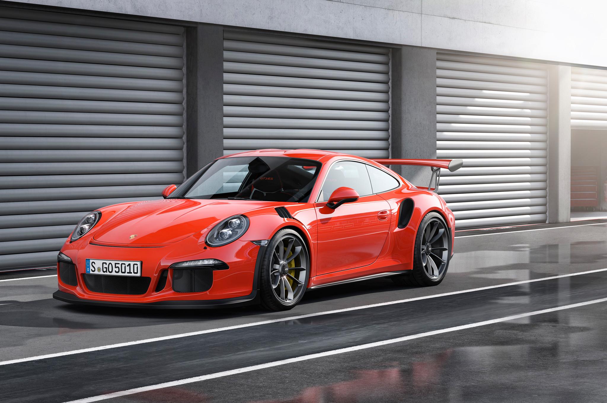 The 2016 Porsche 911 Gt3 Rs Exotic Car List