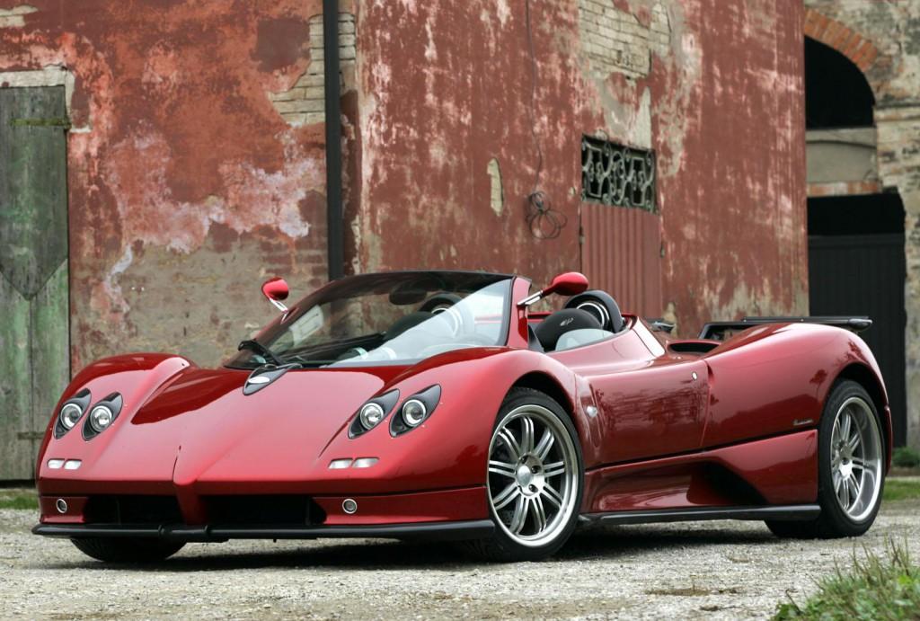 pagani zonda vs bugatti veyron - exotic car list