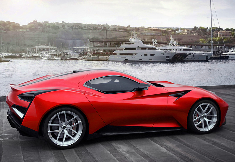 The Icona Vulcano A Titanium Supercar Exotic Car List
