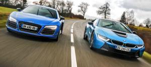 Audi R8 vs BMW i8