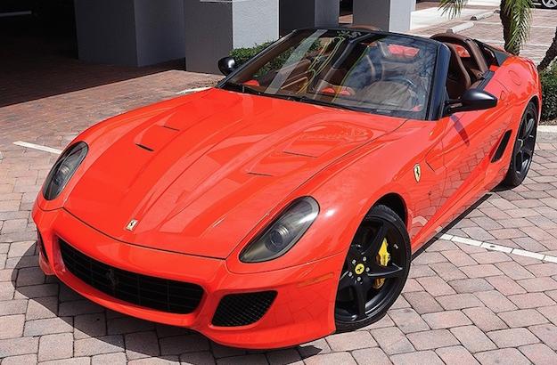 2011 Ferrari 599 Sa Aperta For Sale Exotic Car List