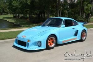 Gulf Blue 1983 Porsche 935 DP Turbo