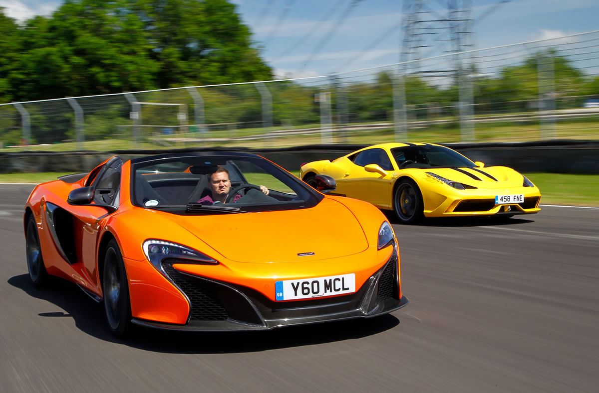Ferrari 458 Vs Mclaren 650s Exotic Car List