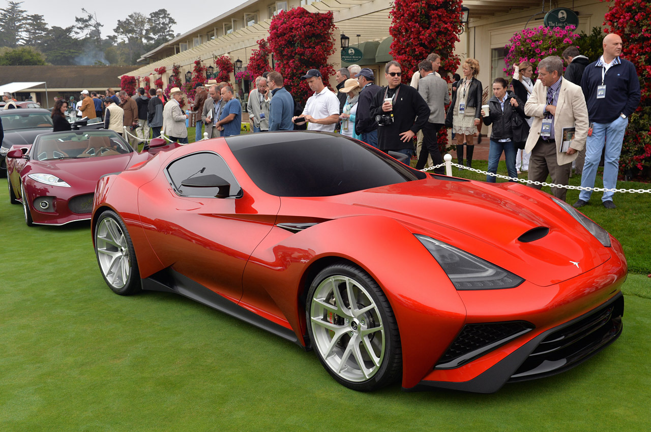 The Icona Vulcano: A Titanium Supercar - Exotic Car List