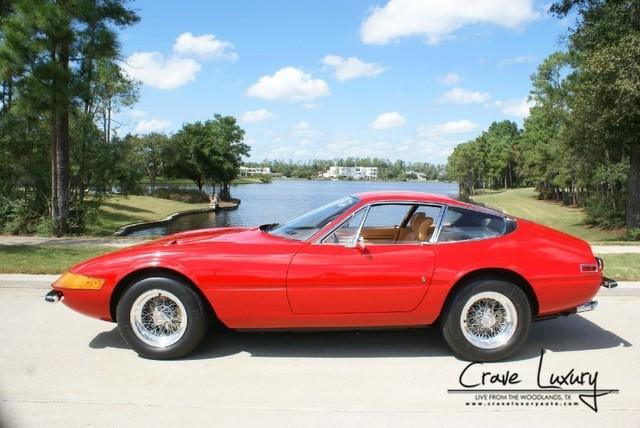 1972 Ferrari 365 Gtb 4 Daytona Coupe Exotic Car List