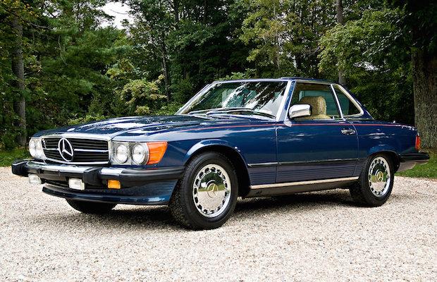 1980 Mercedes SL