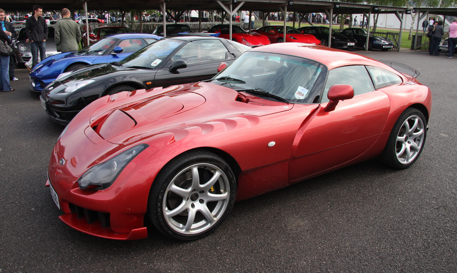 The TVR Sagaris Sports Car