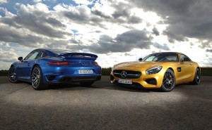 AMG GT S vs 911 Turbo