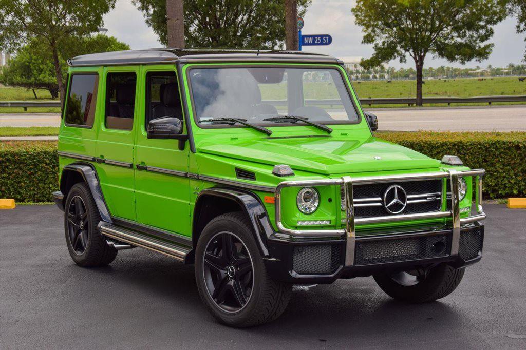 Alien Green Mercedes Benz G63 Amg Exotic Car List