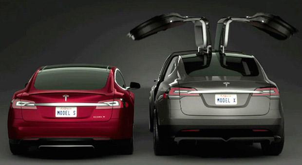 Tesla Model X Signature Series Launch Exotic Car List