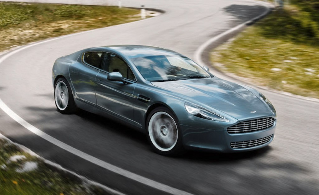 Electric aston martin rapide to launch in 2017 exotic car list
