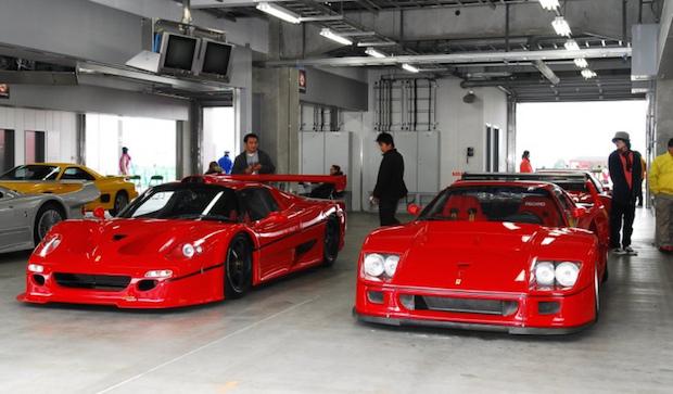 F50 GT vs F40 LM
