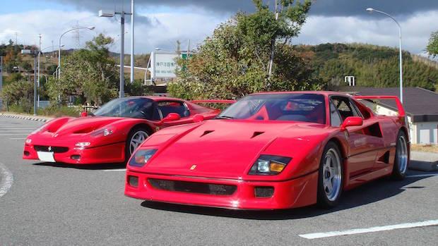 Ferrari F40 vs F50