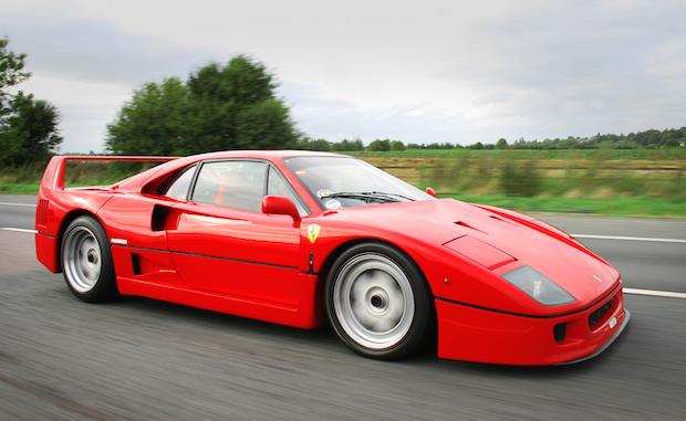 Ferrari F40 vs F50: Signs of the Times