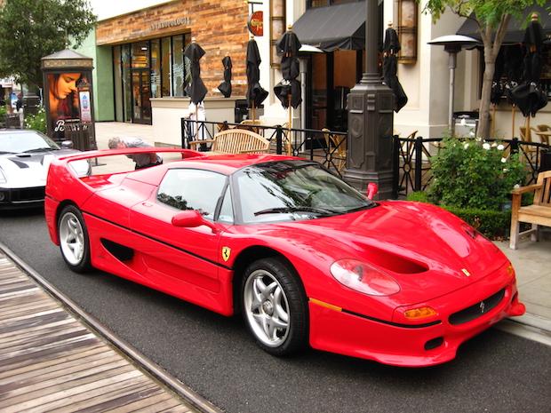 Ferrari F40 Vs F50 Signs Of The Times Exotic Car List