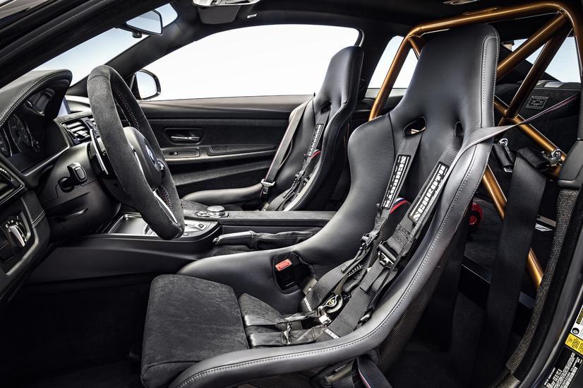 BMW M4 GTS Interior and seats