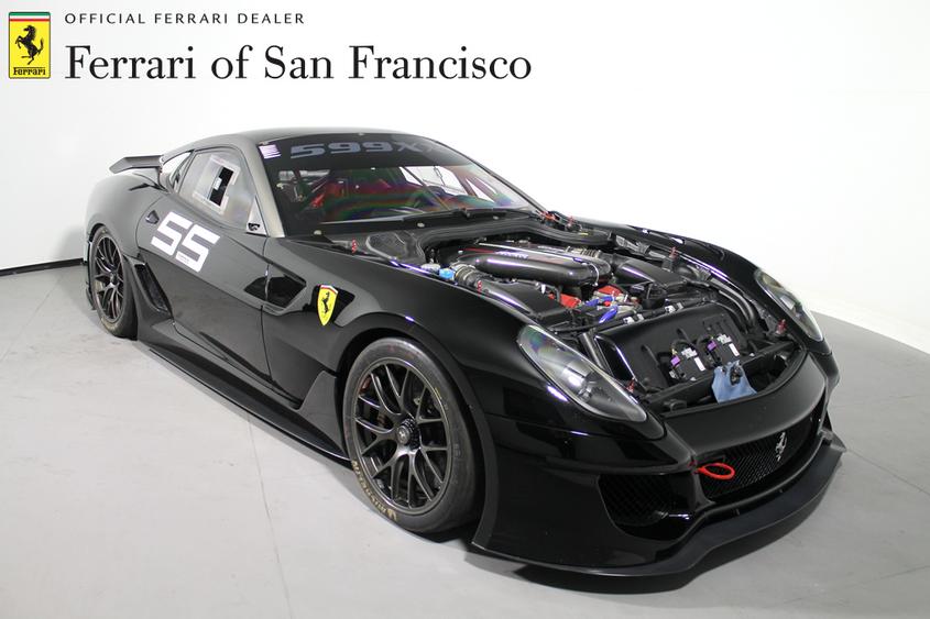Ferrari 599XX Engine