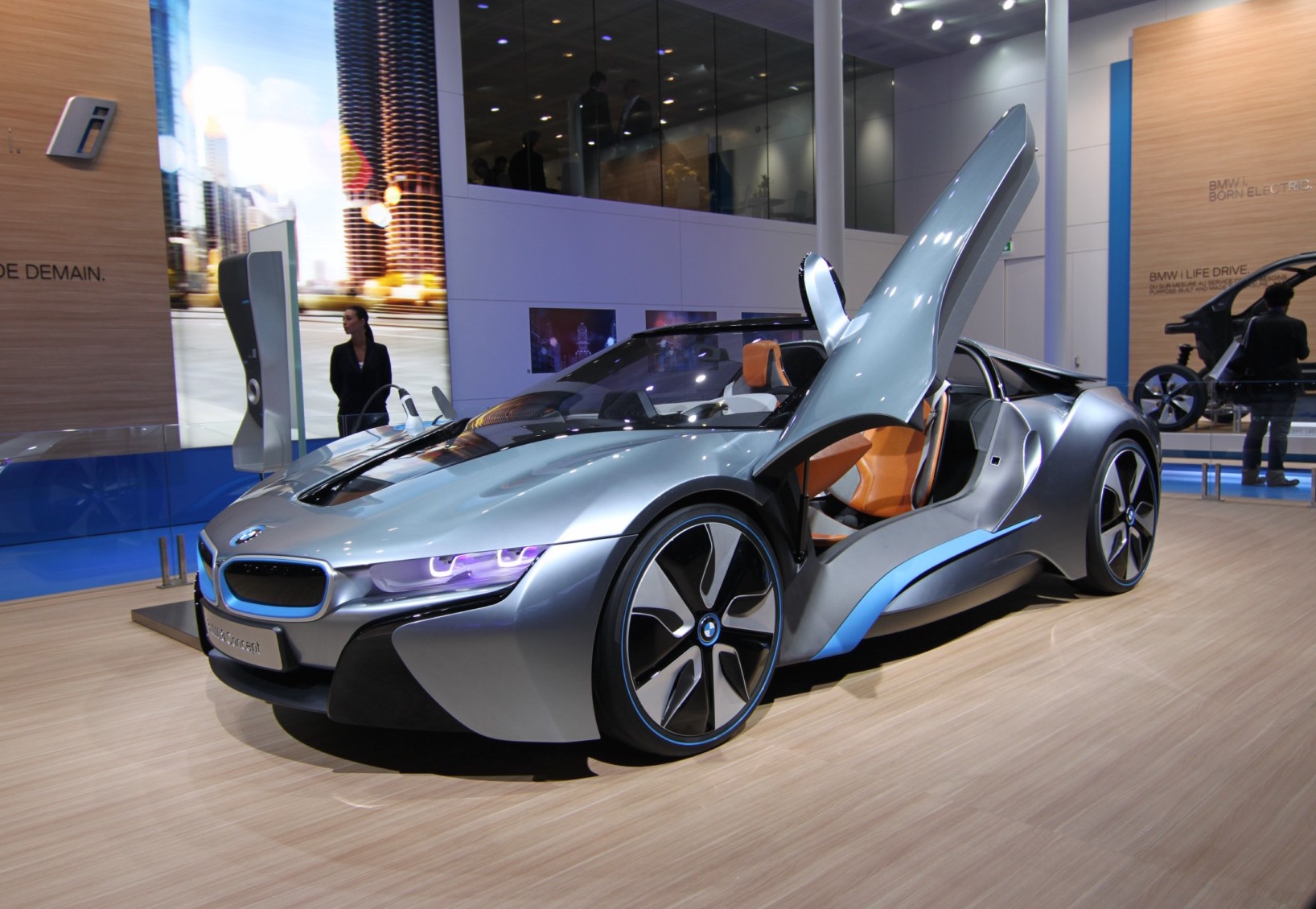 BMW I8 Spyder Soon To Be Unveiled
