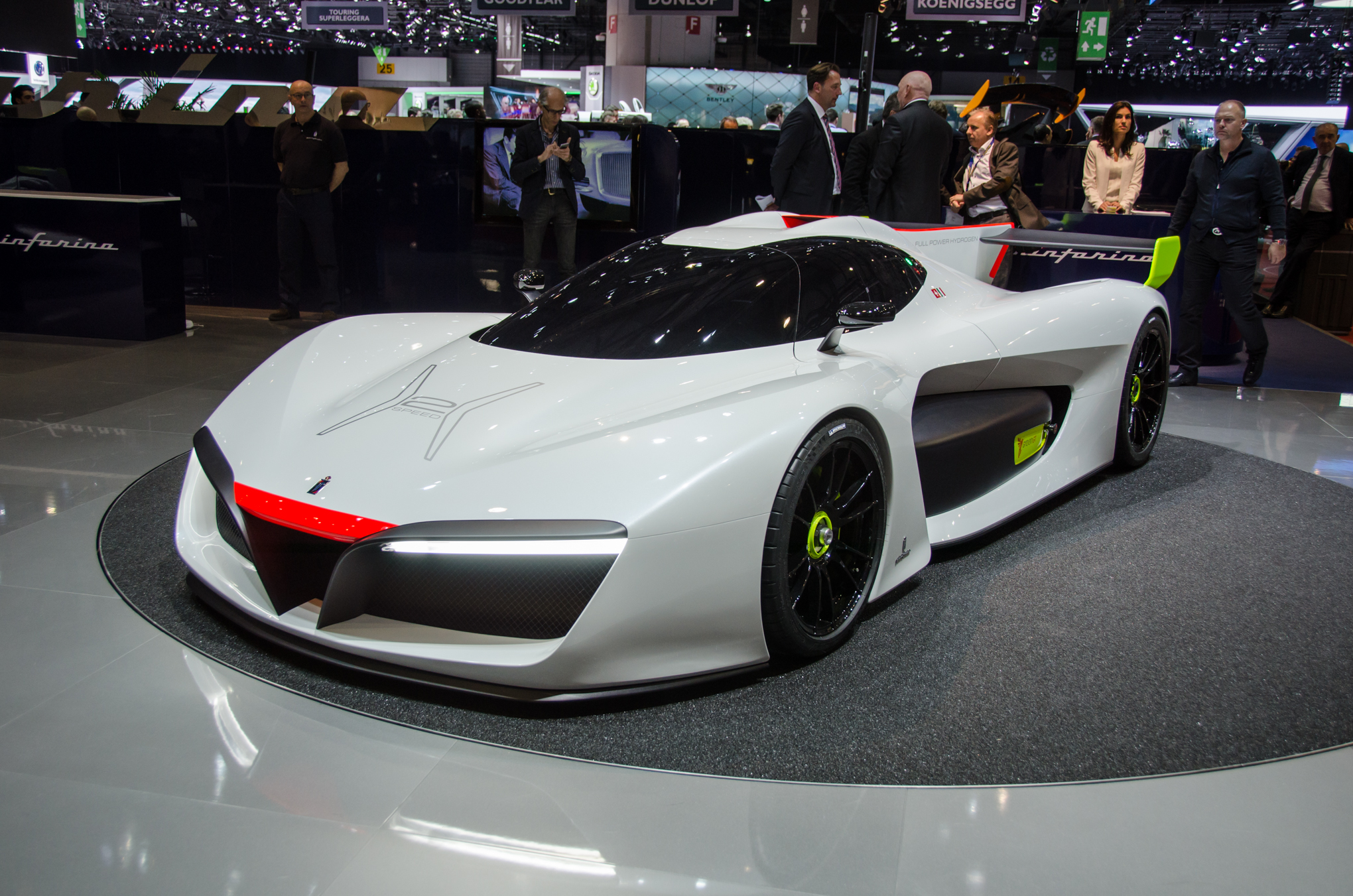 Model Hydrogen Fuel Cell Cars Pininfarina H2 Speed C...