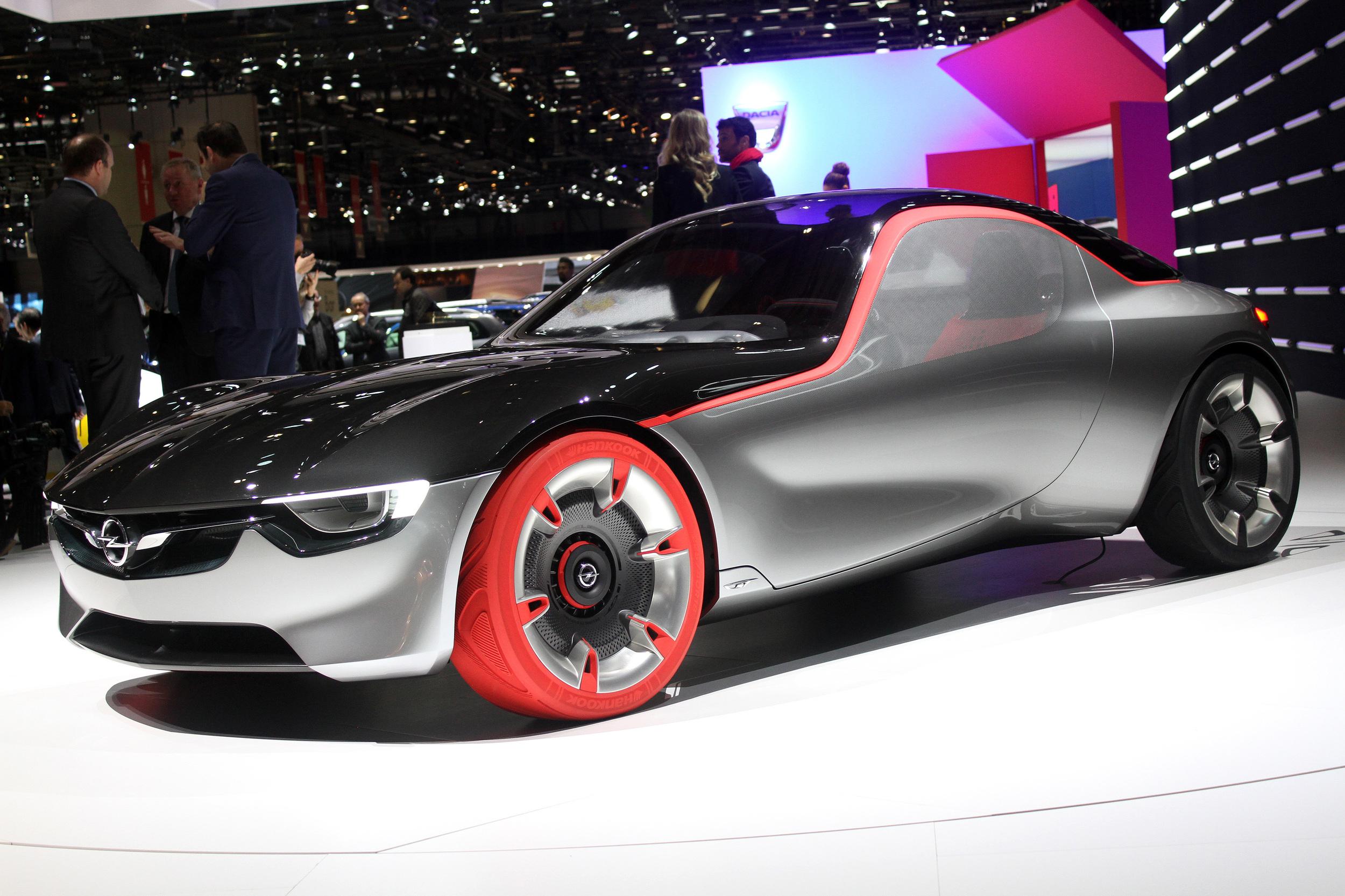 Opel Gt Concept At Geneva Exotic Car List