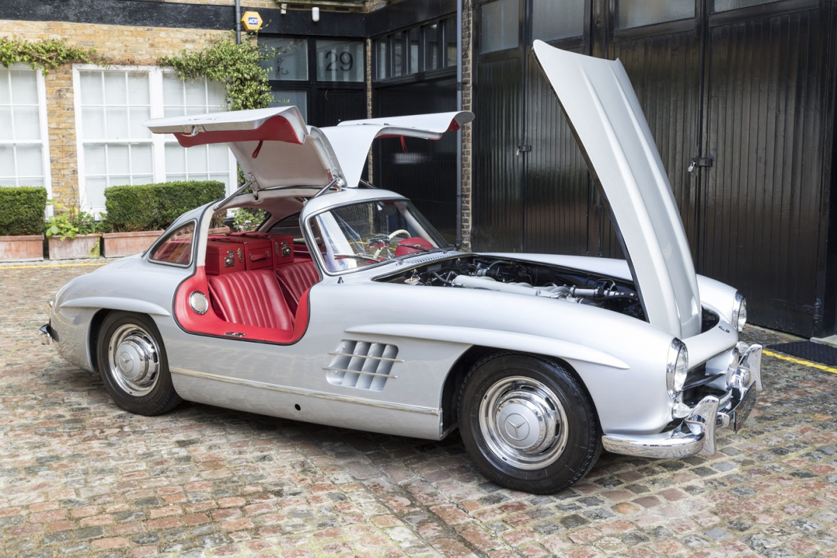 1955 Mercedes-Benz 300SL Gullwing For Sale - Exotic Car List