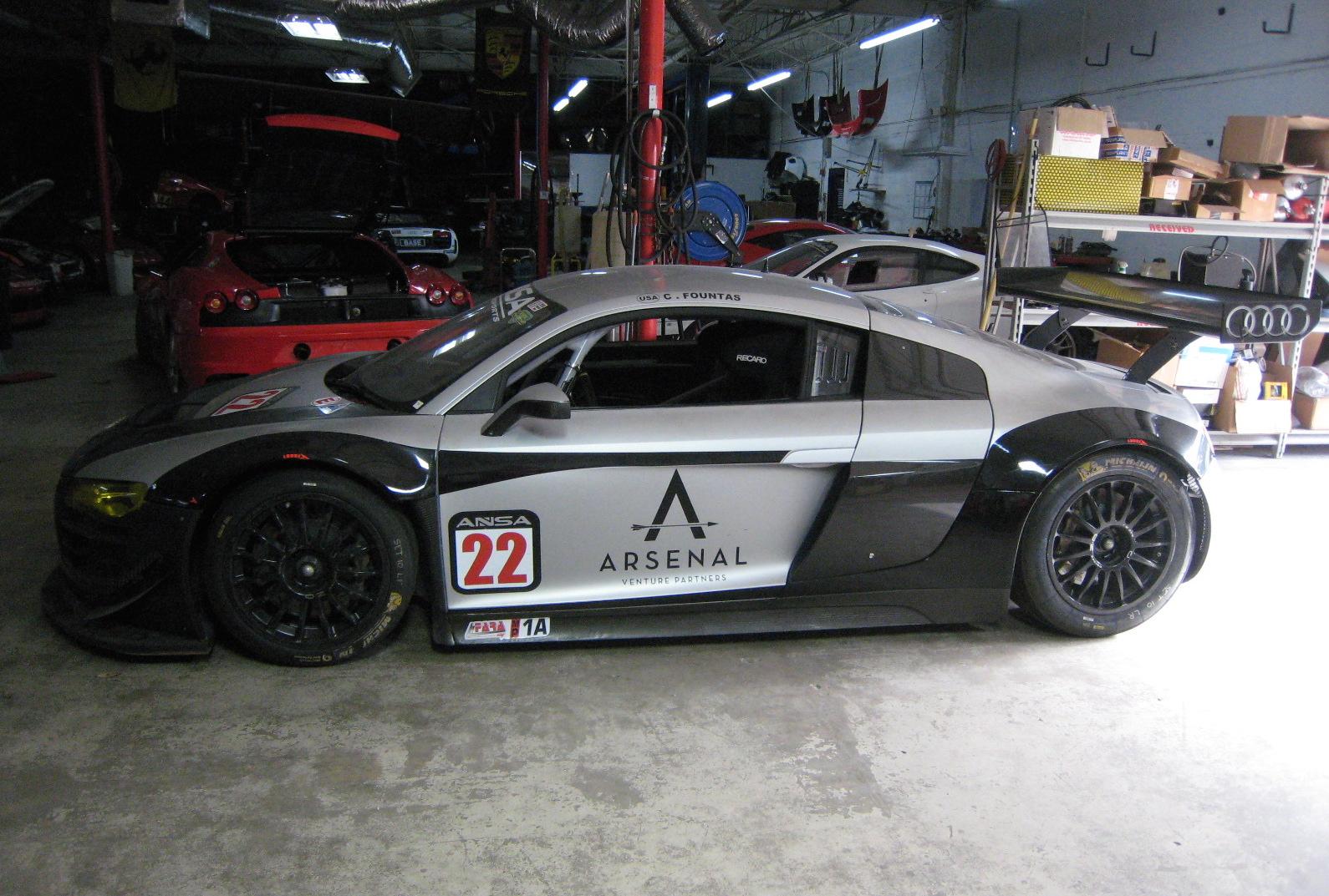 2010 Audi R8 Lms Gt3 Race Car Exotic Car List