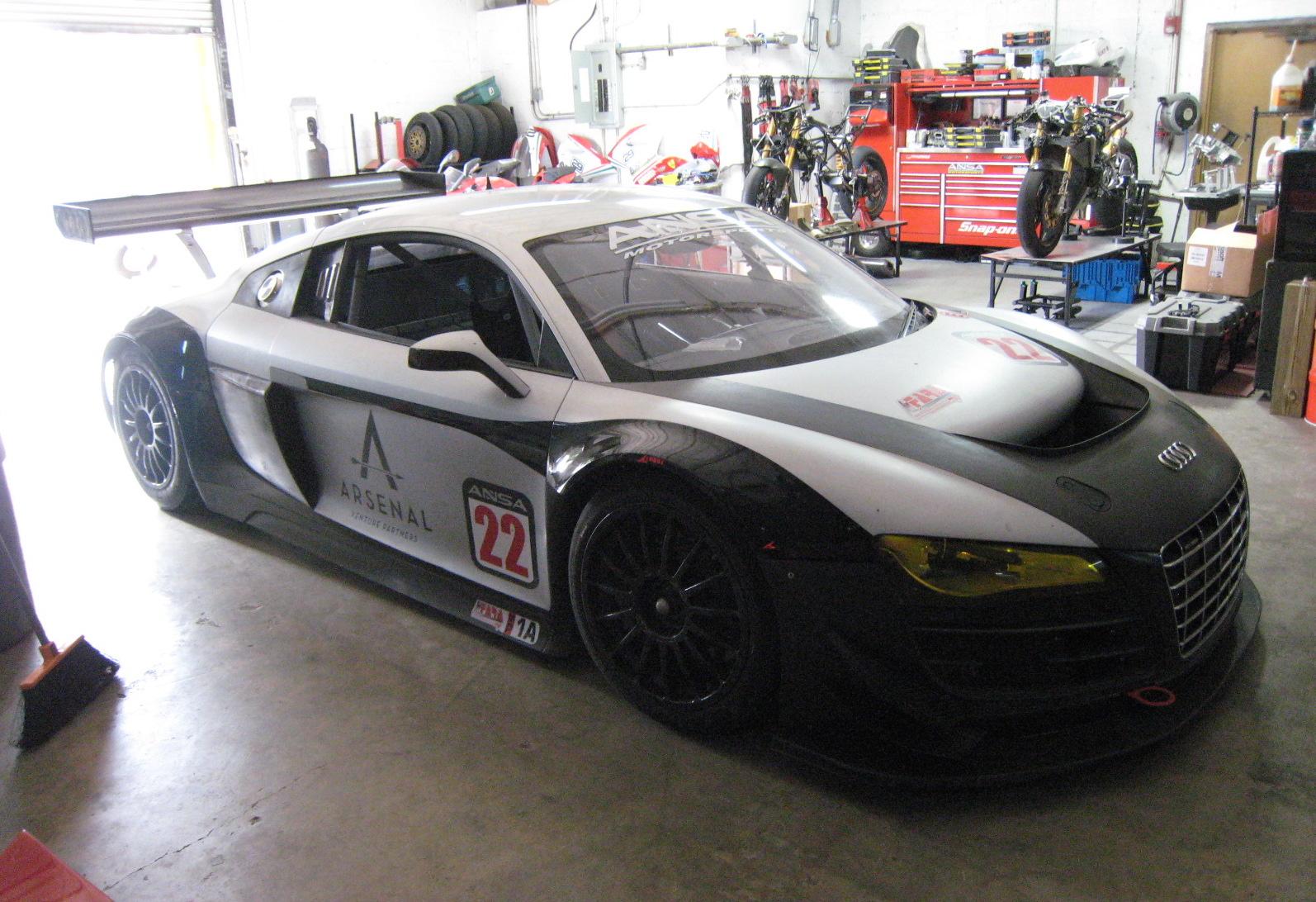 2010 Audi R8 LMS GT3 Race Car - Exotic Car List