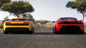 Lamborghini Gallardo vs Ferrari F430