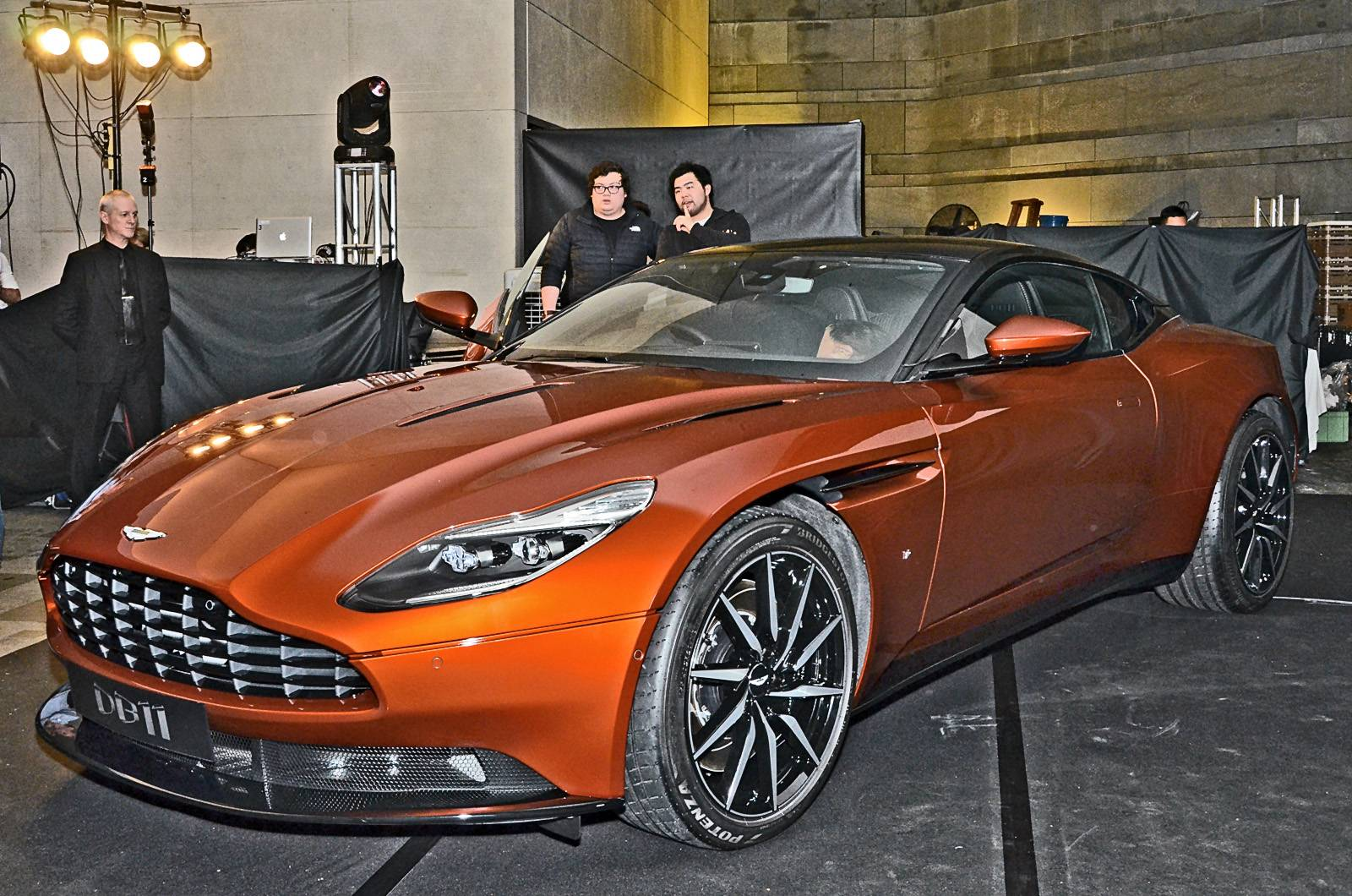 aston martin db11 unveiled in hong kong - exotic car list