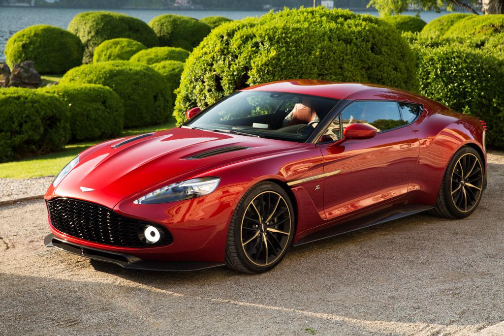 Aston Martin To Produce Stunning Vanquish Zagato Exotic Car List