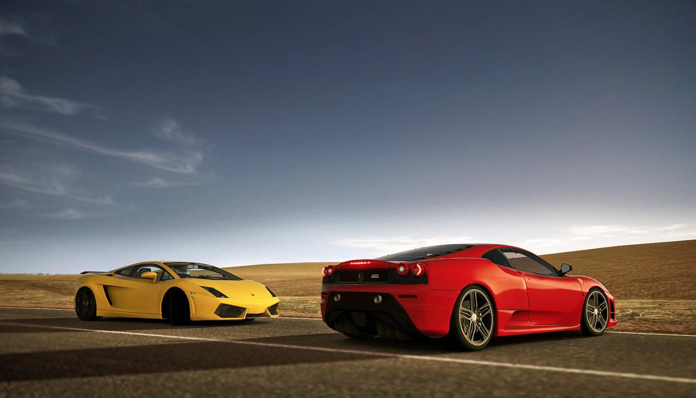 Lamborghini Gallardo Vs Ferrari F430 Exotic Car List