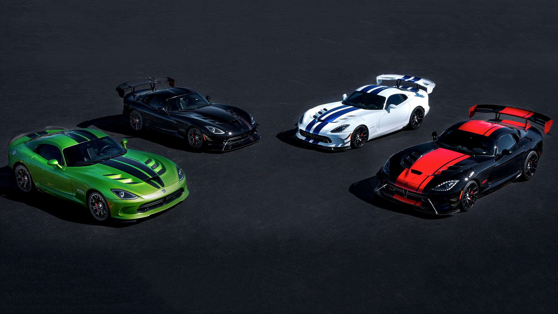 Dodge Viper Special Edition Models