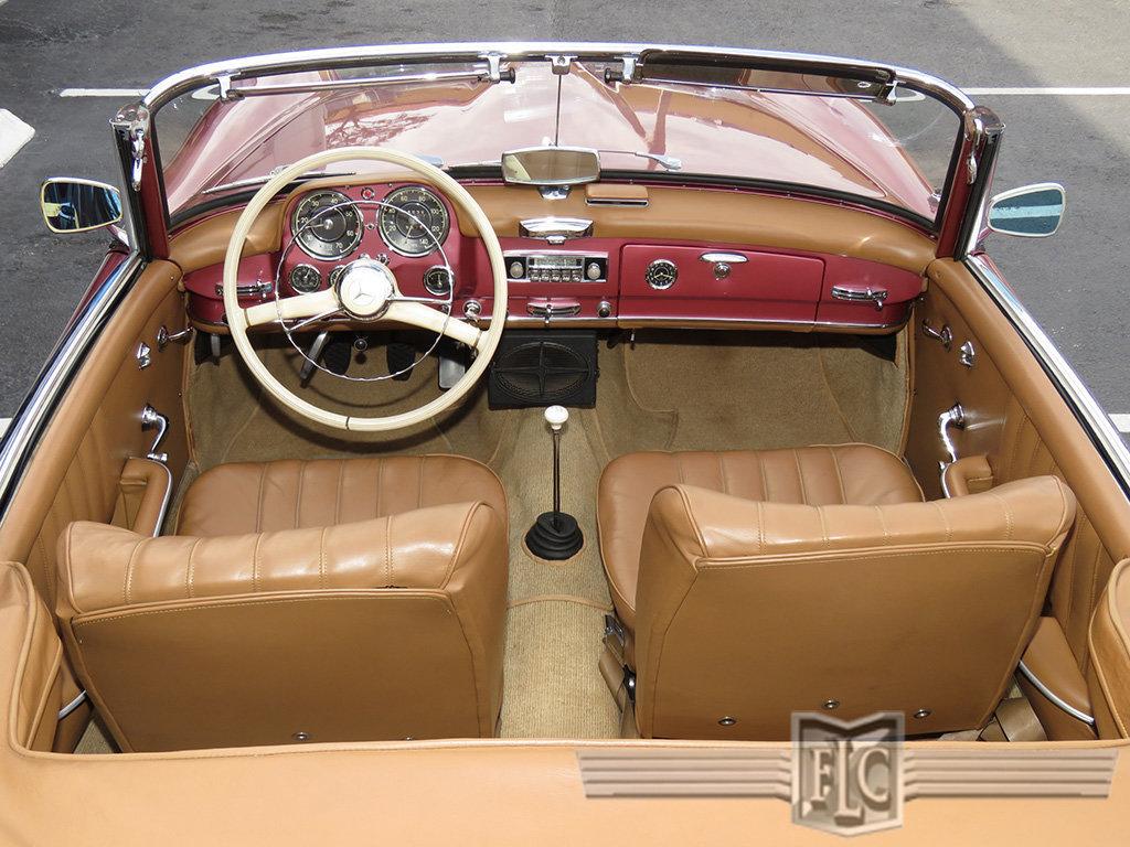 Strawberry 1958 Mercedes Benz 190sl Roadster Exotic Car List