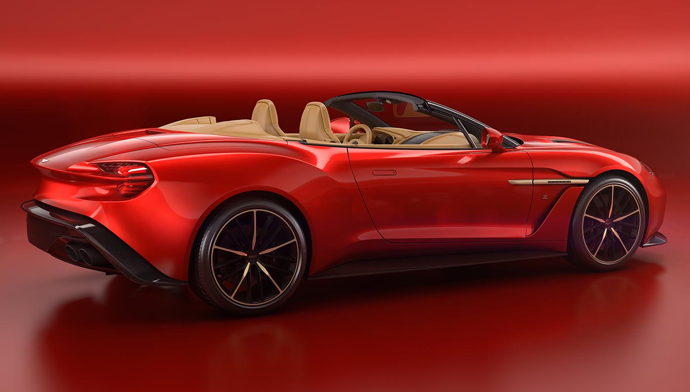 Aston Martin Vanquish Zagato Volante Convertible