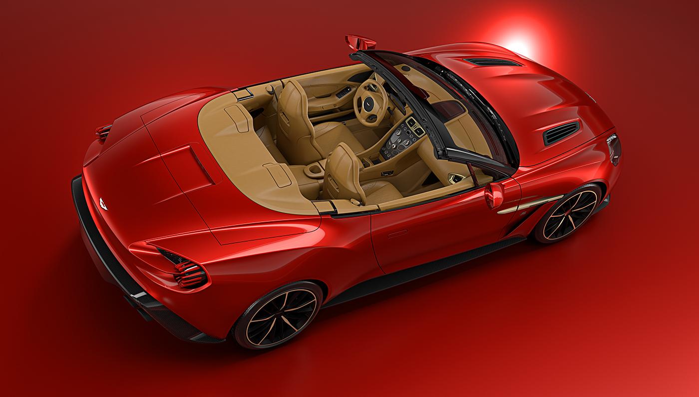 Aston Martin Vanquish Zagato Convertible