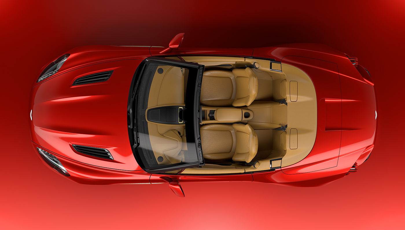 Aston Martin Vanquish Zagato Volante Interior
