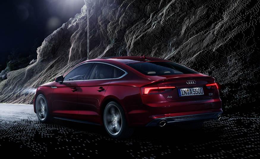 D 233 J 224 Vu The 2018 Audi A5 S5 Sportback Exotic Car List
