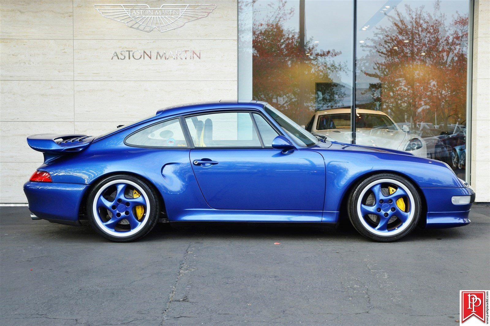 Cobalt Blue Porsche 993 Turbo S For Sale - Exotic Car List