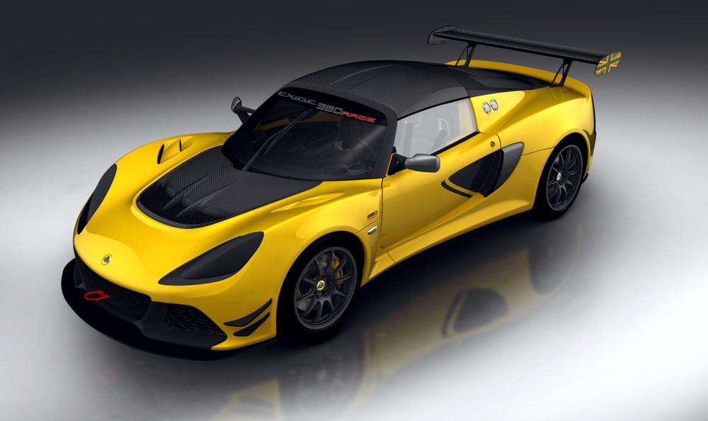 Track-Only Lotus Exige Race 380 Revealed