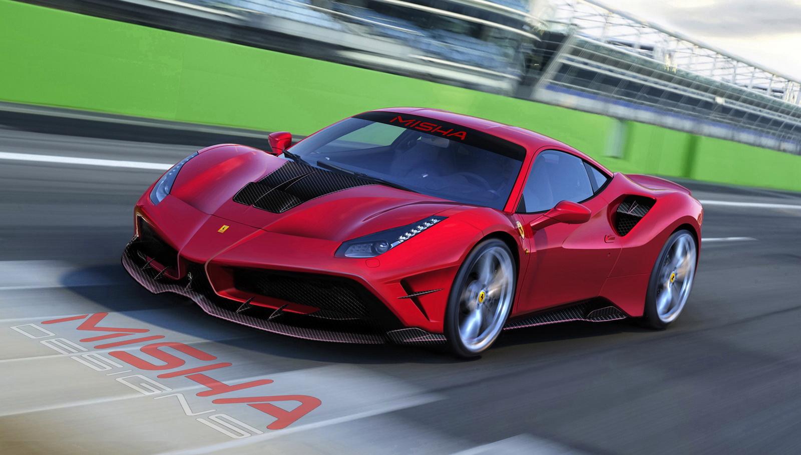 Misha Designs Ferrari 488