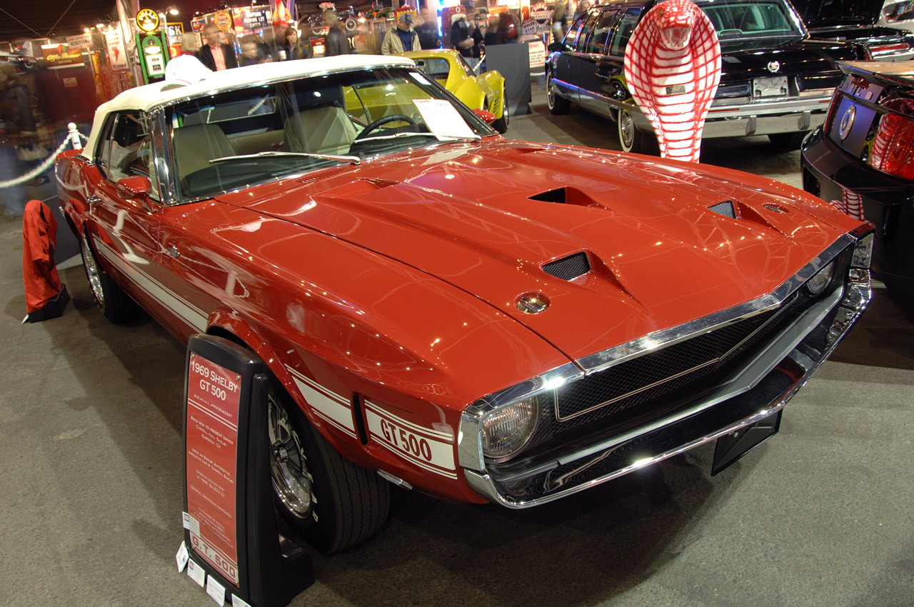 Carroll Shelby's 1969 Shelby GT500 Convertible
