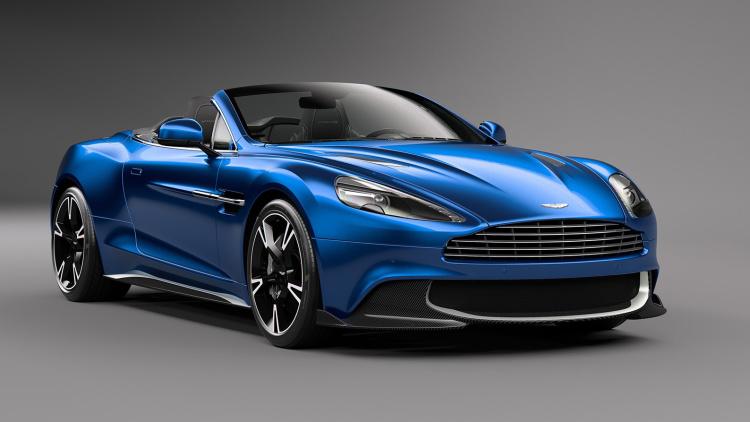 The Stunning New Aston Martin Vanquish S Volante