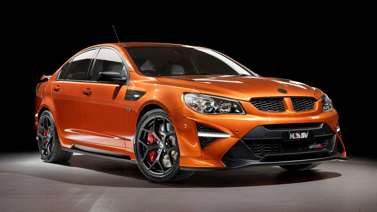 HSV Sends Commodore Out With ZR1-Powered GTSR W1