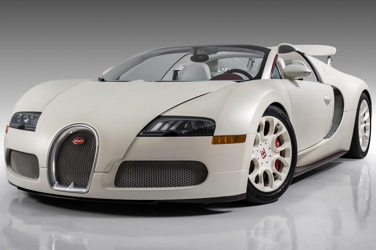 Floyd Mayweather's Bugatti Veyron Grand Sport