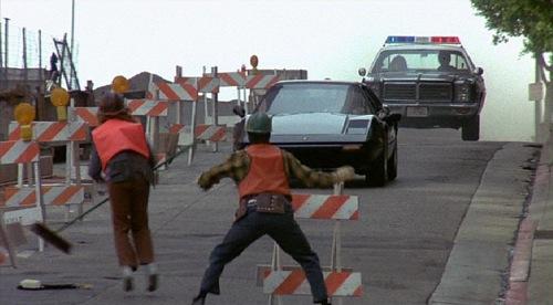 The Hidden Car Chase Scene