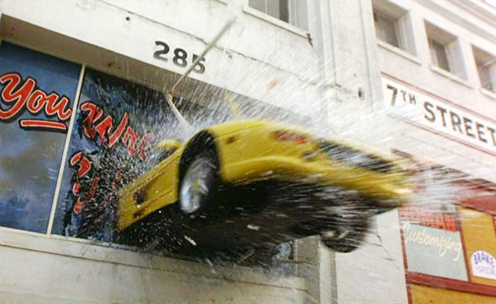 The Rock Car Chase