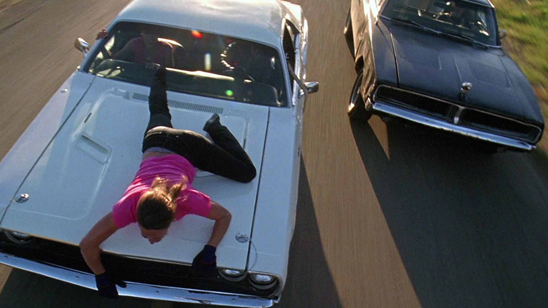 Death Proof Car Chase