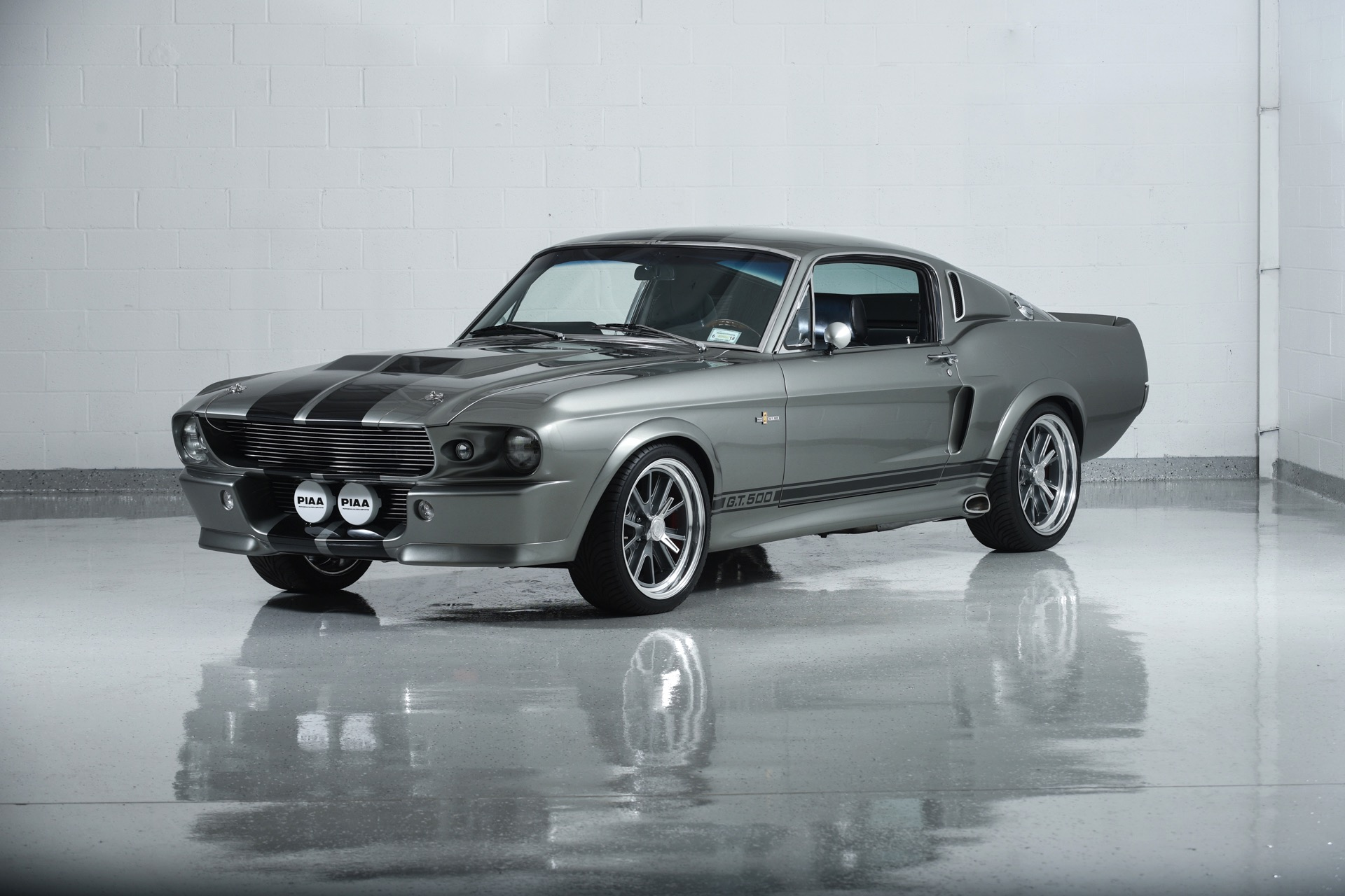 Tesla >> 1967 Ford Mustang Fastback Eleanor Tribute - Exotic Car List